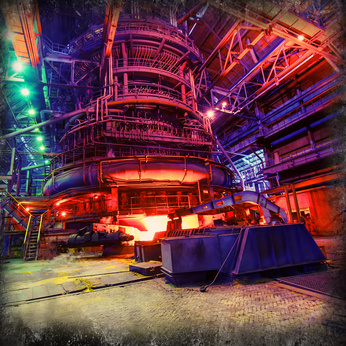 blast furnace production, metallurgy